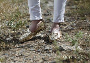Zapatos TataMana dorados