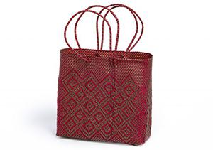 Teotihuacan Rombos Rojo/Dorado