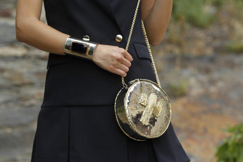 look invitada perfecta, bolso joya, cactus, clutch boda, made in mexico, artesanía, hecho artesanalmente.
