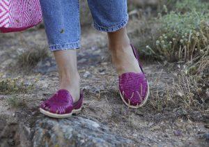 Zapatos TataMana fucsia