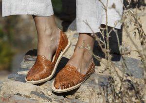Zapatos TataMana camel