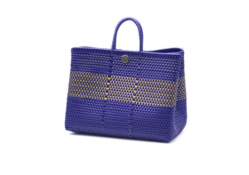 artesanía. bolso shopper, plastico reciclado, look casual, bolso de mano, hecho en mexico,