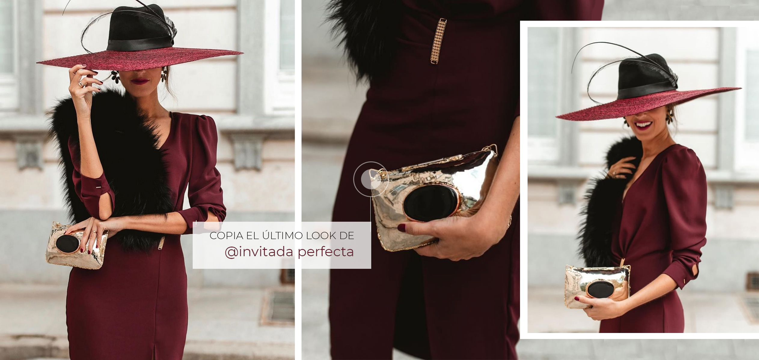 Copia los looks de Invitada Perfecta para bodas de invierno