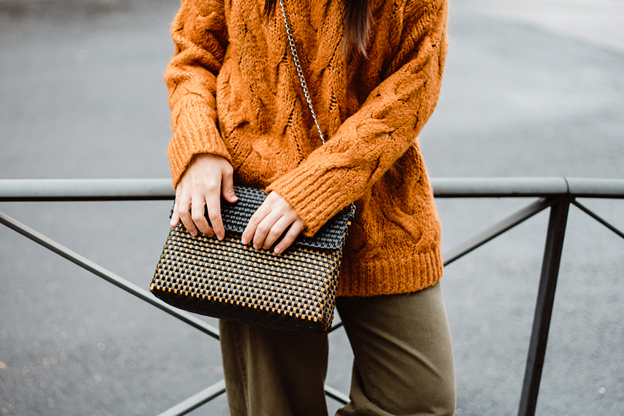 clutch, bolso de mano. casual, fashion, plastico reciclado, moda, accesorios 2020